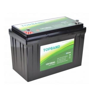 Bilde av TOPBAND Lithium HEAT PRO - 12V 100AH - 150A BMS -